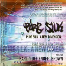 """CDs de Música: KARL """"TUFF ENUFF"""" BROWN - PURE SILK: A NEW DIMENSION (2XCD, MIXED). Lote 277079713"""