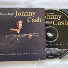 CDs de Música: JOHNNY CASH - THE MAN IN BLACK - THE DEFINITIVE COLLECTION (CD, COMP). Lote 277081383
