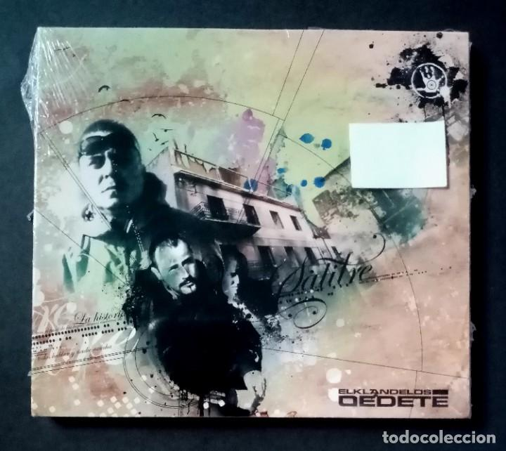 EL KLAN DE LOS DEDETE - SALITRE - CD 2008 - TREZE RECORDS (NUEVO / PRECINTADO) (Música - CD's Hip hop)