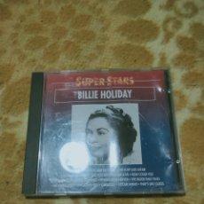 CDs de Música: BILLIE HOLIDAY - SUPER STARS CD. Lote 277094738