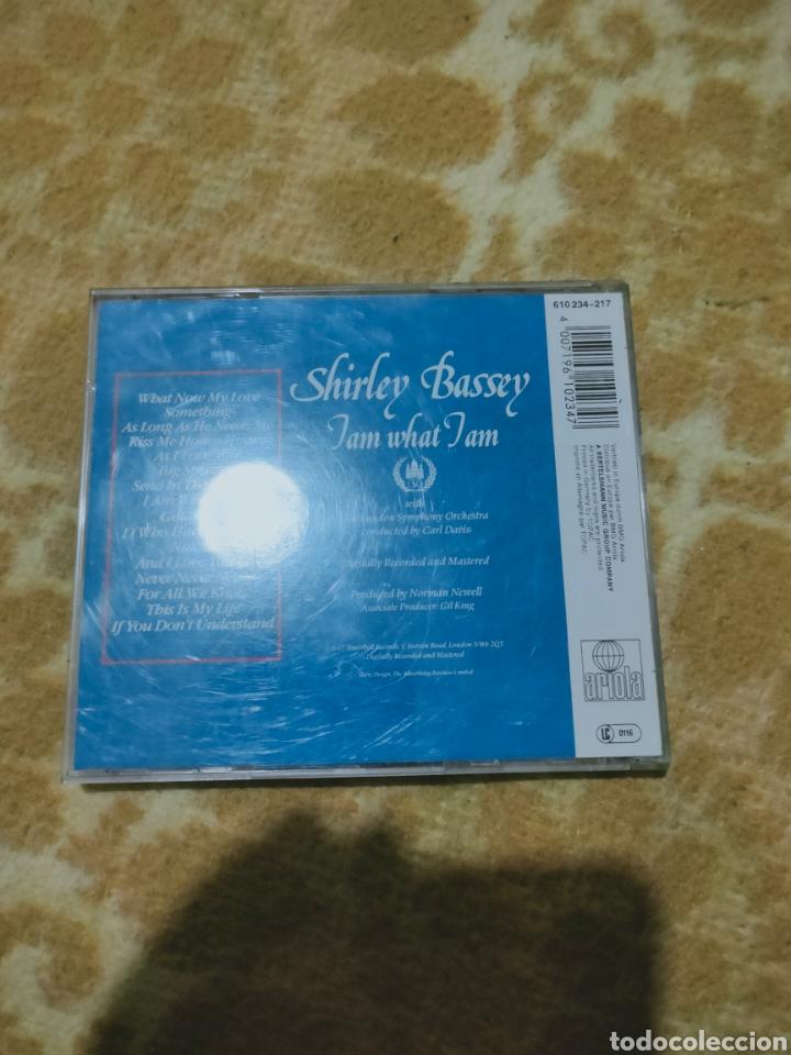CDs de Música: Shirley bassey - I am what I am cd - Foto 2 - 277095483