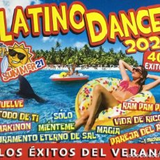 CDs de Música: LATINO DANCE 2021 - 40 TEMAS (COMPACT DOBLE). Lote 277095853