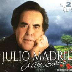 CDs de Música: JULIO MADRID - A UD. SEÑOR (COMPACT DOBLE). Lote 277096033