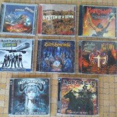CD di Musica: LOTE CDS MUSICA HEAVY IRON MAIDEN, JUDAS PRIEST, IRON WARRIORS. LEER DESCRIPCIÓN. Lote 277096398