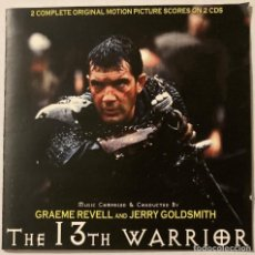 CDs de Musique: THE 13TH WARRIOR / JERRY GOLDSMITH & GRAEME REVELL 2CD BSO - PROMO. Lote 277098038
