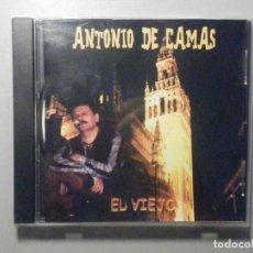CDs de Música: CD - CD-ROM - ANTONIO DE CAMAS - EL VIEJO - SOUND MACHINE - 2004 - RARO. Lote 277098128