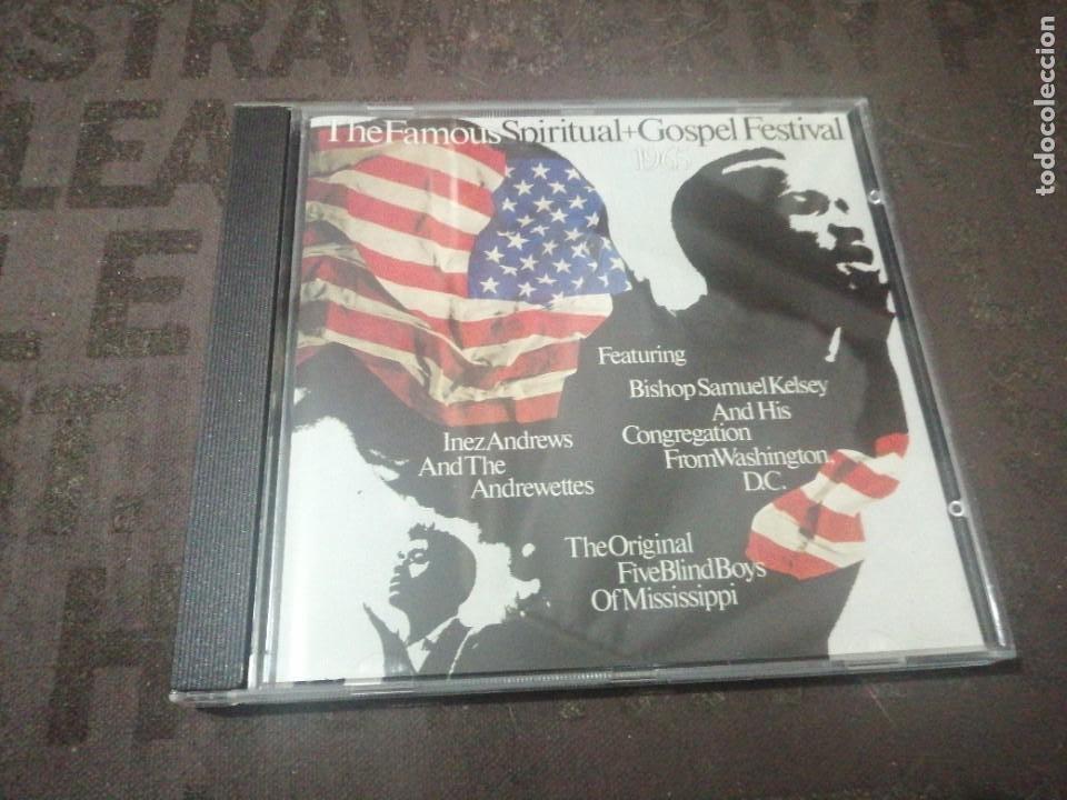 THE FAMOUS SPIRITUAL + GOSPEL FESTIVAL 1965 (Música - CD's Jazz, Blues, Soul y Gospel)