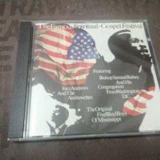 CDs de Música: THE FAMOUS SPIRITUAL + GOSPEL FESTIVAL 1965. Lote 277100798