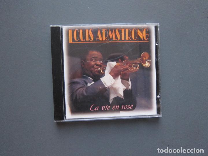 LA VIE EN ROSE - LOUIS AMSTRONG (Música - CD's Jazz, Blues, Soul y Gospel)