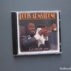 CDs de Música: LA VIE EN ROSE - LOUIS AMSTRONG. Lote 277101588