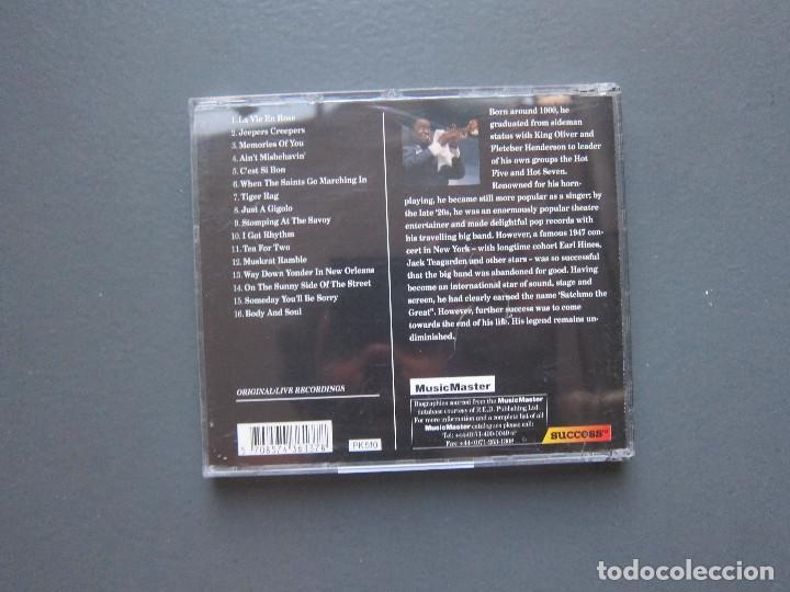 CDs de Música: LA VIE EN ROSE - LOUIS AMSTRONG - Foto 2 - 277101588