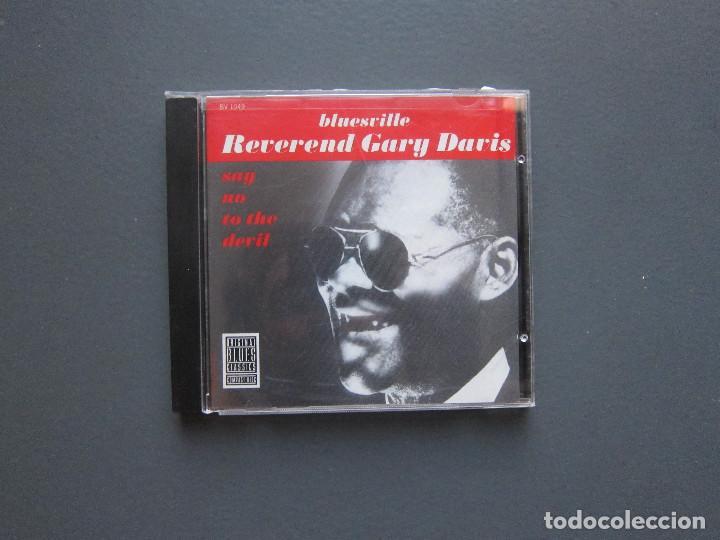 SAY NO TO THE DEVIL - REVEREND GARY DAVIS (Música - CD's Jazz, Blues, Soul y Gospel)
