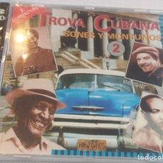 CDs de Música: TROVA CUBANA - SONES Y MONTUNOS 2 / CDS (PRECINTADO). Lote 277109738