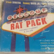 CDs de Música: RAT PACK - SINATRA, SAMMY DAVIS, DEAN MARTIN (PRECINTADO). Lote 277109798