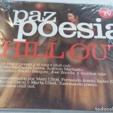 CDs de Música: PAZ POESIA CHILL OUT (PRECINTADO). Lote 277110068