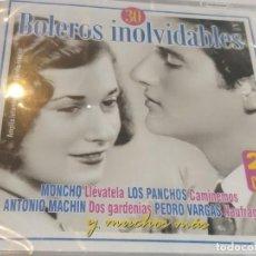 CDs de Música: 30 BOLEROS INOLVIDABLES - 2CDS (PRECINTADO). Lote 277110443