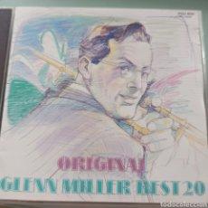 CDs de Música: ORIGINAL GLENN MILLER BEST 20 (RCA, JAPAN, 1986). Lote 277103218