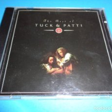 CDs de Música: TUCK & PATTI / THE BEST OF / GREATEST HITS / WINDHAM HILL RECORDS / CD. Lote 277113633