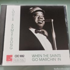 CDs de Música: LOUIS ARMSTRONG - WHEN THE SAINTS GO MARCHIN' IN (LESTER RECORDING CATALOG, JAPAN, 1992). Lote 277114283