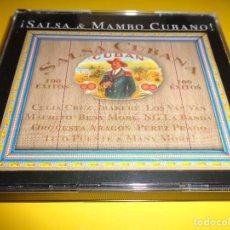 CDs de Música: SALSA & MAMBO CUBANO / CANCIONES CUBANAS / RECORDING ARTS / 5 CD. Lote 277128643
