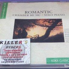 CDs de Música: ROMANTIC CHAMBER MUSIC / SOLO PIANO - 2X CD. Lote 277129188