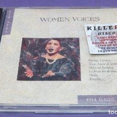 CDs de Música: WOMEN VOICES - CD. Lote 277129848