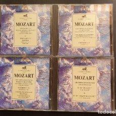 CDs de Música: LOTE 4 CD MOZART - CLASSICA LICORNE - 4 HORAS DE MUSICA DE MOZART (1992). Lote 277130013