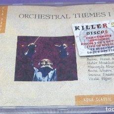 CDs de Música: ORCHESTRAL THEMES 1 - BACH, BIZET, BORODIN, BRAHMS, DVORAK, HAYDN, MAHLER, MENDELSSOHN, MOZART - CD. Lote 277130763