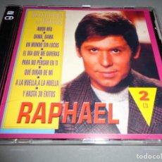 CDs de Música: RAPHAEL / SELECCIÓN DE ÉXITOS / GRANDES ÉXITOS / LO MEJOR DE / 2 CD. Lote 277130933