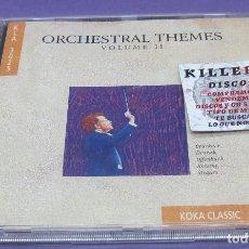 CDs de Música: ORCHESTRAL THEMES VOLUME II - BRUCKNER, DVORAK, OFFENBACH, ROSSINI, STRAUSS - CD. Lote 277131503