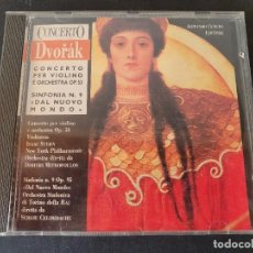 CDs de Música: CONCERTO DVORAK SINFONIA N.9 NUEVO MUNDO. Lote 277131518