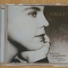CDs de Música: ADRIANA CALCANHOTTO (PERFIL - OS MAIORES SUCESSOS) CD 2001. Lote 277139203