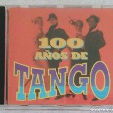 CDs de Música: 100 AÑOS DE TANGO - CD 1998 EDICIÓN ORFEON MEXICO (DISCEPOLO, CARLOS GARDEL, FRANCISCO CANARO...). Lote 277139473