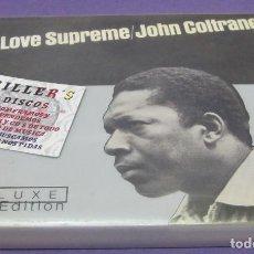 CDs de Música: JOHN COLTRANE - A LOVE SUPREME - 2XCD DELUXE EDITION. Lote 101444407