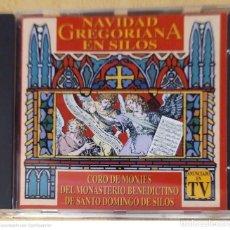 CDs de Música: NAVIDAD GREGORIANA EN SILOS - CD 1994 (CORO DE MONJES BENEDICTINO DE SANTO DOMINGO DE SILOS). Lote 277142378