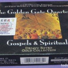 CDs de Música: THE GOLDEN GATE QUARTET - GOSPELS & SPIRITUALS - 2X CD. Lote 277142413