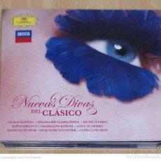 CDs de Música: NUEVAS DIVAS DEL CLASICO - 2 CD'S 2010 (CECILIA BARTOLI, ANNA NETREBKO, PATRICIA PETIBON...). Lote 277142878
