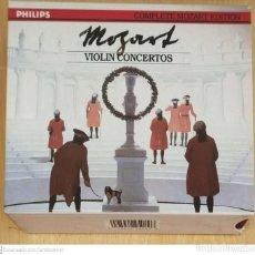 CDs de Música: MOZART (VIOLIN CONCERTOS) 4 CD'S LIBRETO 1991 PHILIPS. Lote 277143873