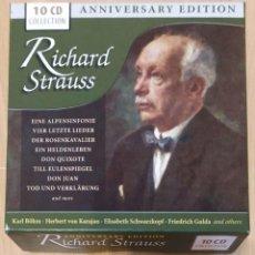 CDs de Música: RICHARD STRAUSS (ANNIVERSARY EDITION) BOX 10 CD'S. Lote 277144033
