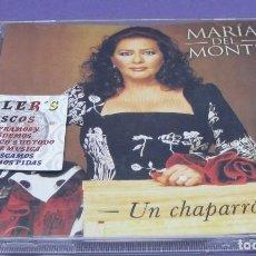 CDs de Música: MARÍA DEL MONTE - UN CHAPARRÓN - CD. Lote 277146133