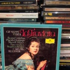 CDs de Música: GIUSEPPE VERDI LA TRAVIATA CARLOS KLEIBER. Lote 277146428