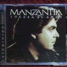 CDs de Música: MANZANITA (LOCURA DE AMOR) CD 2001 - LA TIETA DE JOAN MANUEL SERRAT. Lote 277146673