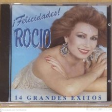 CDs de Música: ROCIO (¡FELICIDADES! - 14 GRANDES EXITOS) CD 1995 * PRECINTADO. Lote 277147203