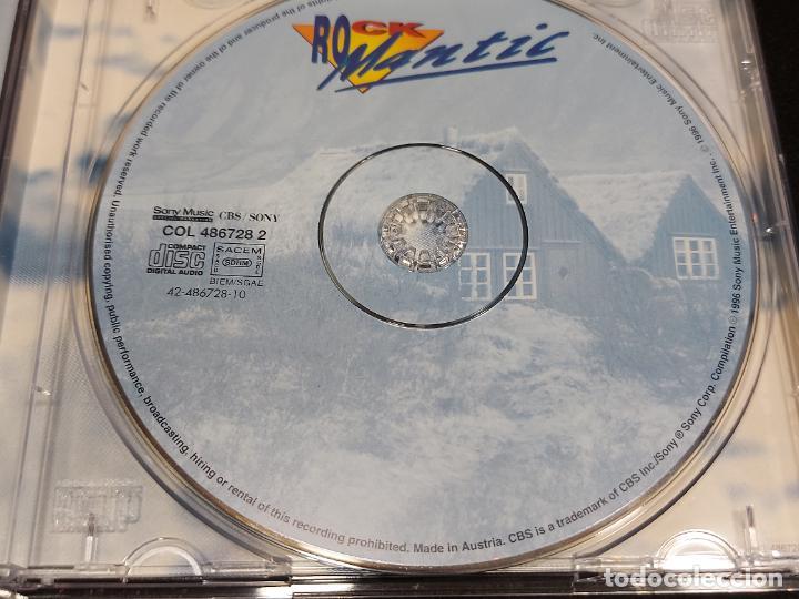 CDs de Música: ROCKMANTIC / DIVERSOS ARTISTAS / CD - SONY MUSIC-1996 / 18 TEMAS / IMPECABLE - Foto 2 - 277153588