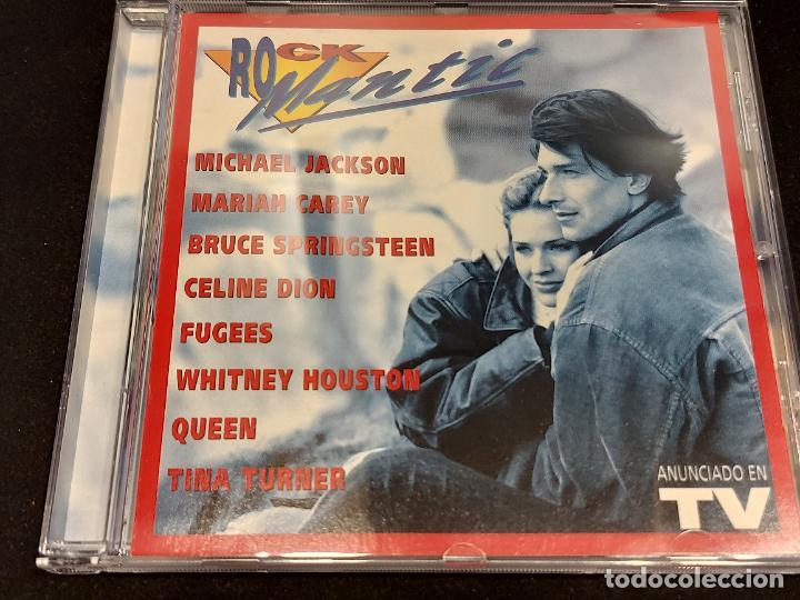 ROCKMANTIC / DIVERSOS ARTISTAS / CD - SONY MUSIC-1996 / 18 TEMAS / IMPECABLE (Música - CD's Melódica )