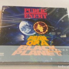 CDs de Música: PUBLIC ENEMY - FEAR OF A BLACK PLANET / DELUXE EDITION 2 CDS ( PRECINTADO ). Lote 277161063