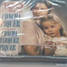 CDs de Música: CONCHA PIQUER CANTA JUNTO A CONCHA MARQUEZ PIQUER - 100 AÑOS 2CDS+DVD( PRECINTADO ). Lote 277161538