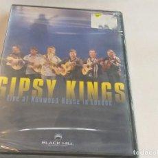 CDs de Música: GIPSY KINGS - LIVE AT KENWOOD HOUSE OF LONDON / DVD ( PRECINTADO ). Lote 277161688