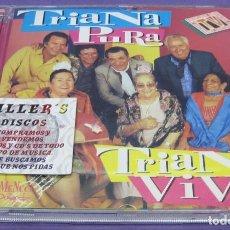 CDs de Música: TRIANA PURA TRIANA VIVA - CD. Lote 277169128