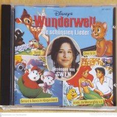 CDs de Música: GWEN (MUNDO MARAVILLOSO - LAS CANCIONES MAS HERMOSAS) CD ALEMAN - WALT DISNEY. Lote 277174873